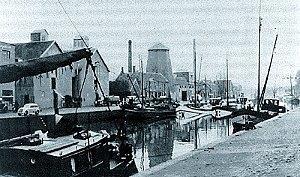 Situatie rond 1939 na een ingrijpende verbouwing